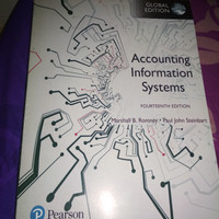 Accounting Information System Fourteenth Edition By. Marshall