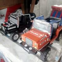 Mainan mobil - mobilan dari kayu,Jeep Kayu,mainan tempo dulu