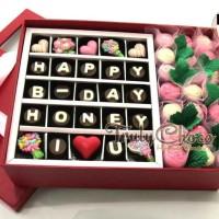 Hadiah ulang tahun kekasih cokelat Trulychoco special