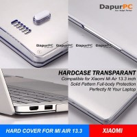 XIAOMI MI AIR 13.3 HARD COVER Notebook - Laptop Tranparant Cover Top