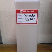 Terpentin minyak Terpentin Terpentine, Turpentine oil 1LT