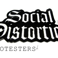 STICKER BAND SOCIAL DISTORTION
