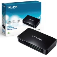 TP-LINK TL-SF1024M 24Port Fast Ethernet Unmanaged Switch Plug and Play