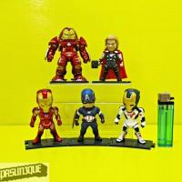 Figure Avengers Kids Logic Set Isi 5 Terbaru