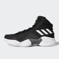 df8e5e77fcff9 Sepatu Basket Adidas Pro Bounce 2018 Black White Original AH2658
