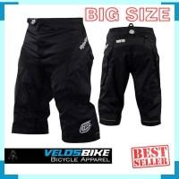 Celana Sepeda Gunung MTB Downhill Non Padding TLD Black BIG SIZE