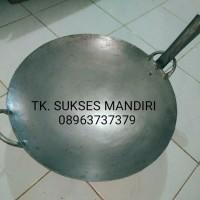 KUALI BESAR BAJA PUTI 45cm kwali kuwali wajan penggorengan nasi goreng