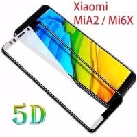 Tempered Glass Hp Xiaomi 6X - Mi A2 - 5D Full