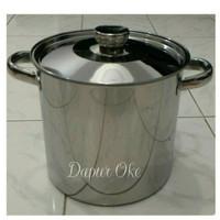 Harga panci tong air bima 30 stainless masak rebus tempat stockpot | Pembandingharga.com