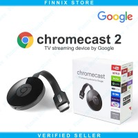 Jual NEW Google Chromecast 2 HDMI Streaming Media player - TV Dongle Murah