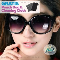 BALI Sunglasses Kacamata Hitam Wanita Oversized Besar Gaya Anti UV