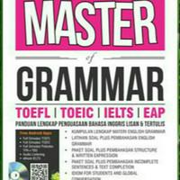 Buku Master Grammar Toefl Toeic Ielts EAP
