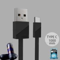 Pengiriman Cepat Remax Blade Kabel USB Type C - RC-105a - Black CUCI