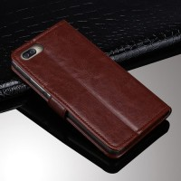New Flip Cover HP LEATHER WALLET Asus Zenfone 4 Max 5 2 ZC520KL case