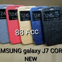 New Flip Cover HP Sarung I SEVEN case for SAMSUNG galaxy J7 CORE New