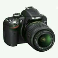 CAMERA DSLR NIKON D3200 KIT LENSA 18-55 VR II INFOH WA :