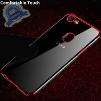 Termurah Chrome Soft Case Premium OPPO F7 IPHONE X Samsung Galaxy S8 S