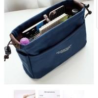 Bag organizer size M, dalaman tas / tas canvas travel.