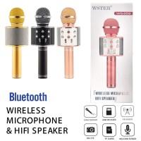 MIC WSTER WS-858 Wireless Bluetooth Karaoke - Mic Smule WSTER WS 858