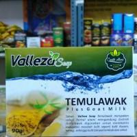Sabun Temulawak Plus Susu Kambing VALLEZA Soap Original