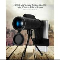 TELESCOPE HP 40x60 MONOCULAR HD TELESKOP NIGHT VISION