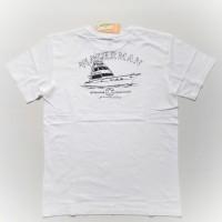 •M regular• Kaos Laudardale Putih Waterman Quiksilver
