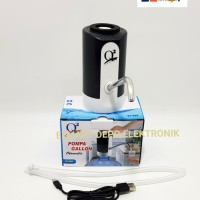 Jual Q2 pompa galon otomatis Q2 668/ water pump rechargeable usb Murah
