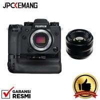 Harga fujifilm xh1 x h1 body with battery grip 35mm f 1 4 garansi | Pembandingharga.com