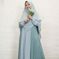 Hijab Alila - Gamis Fitri Pine
