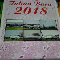 Kalender Dinding Tahun 2018 Tema Pesawat