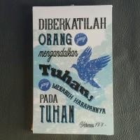 HIASAN DINDING DIBERKATILAH