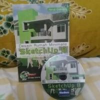 Desain rumah minimalis dengan Sketchup 8 + CD tutorial