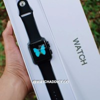JUAL Smartwatch IWO 2 nd Mo watch Iwatch Heart Rate for Android IOS