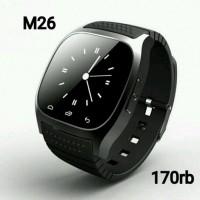 JUAL Smartwatch M26 Blue keren murah bagus BERKUALITAS TOP