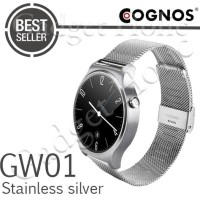 TERLARIS! COGNOS SMARTWATCH GW01 - GSM - HEART RATE - STAINLESS SILVER