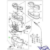 PROMO BOX SPEEDOMETER VIXION 3C1-H359E YAMAHA GENUINE PARTS DISKON