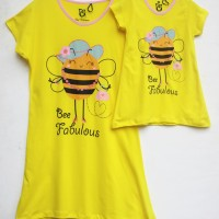 Couple Dress for Mom & Daughter - Dress Kembar untuk Ibu dan Anak