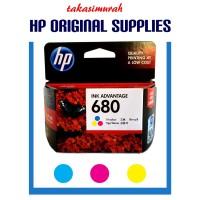 Ink Cartridge HP 680 Color Original / Tinta HP 680 C