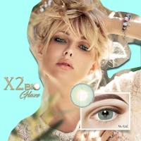 Softlens / Soflen / Softlense X2 Bio Glaze Na AZUL