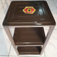 Rak Serbaguna Full Plate Coating Meja Dispenser Kaki Kompor Magic Com