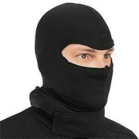 Balaclava Hitam / Masker Wajah / Penutup Kepala / Masker