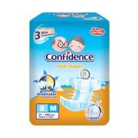 Confidence Adult Premium Diaper Popok Dewasa [M/8 pcs]