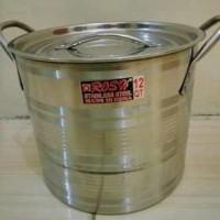 Harga steamer pot 8 liter stainless kukusan dandang kukus panci | Pembandingharga.com