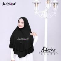 Jilbab Instan Bergo Pet Antem Syari Model Rempel Bahan Jersey Original