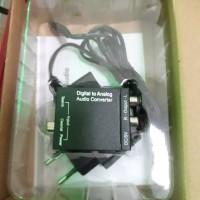 converter optical cocok buat TV atau dvd ke speaker aktif silakan