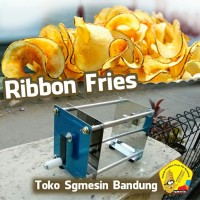pisau pemotong kentang ribbon