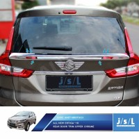 JSL Duck Tail All New Suzuki Ertiga 2018 Rear Door Trim Upper Chrome