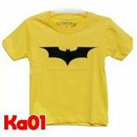 Jual Kaos Anak Superhero Iron Man, Batman, Superman, Hulk, dll Murah