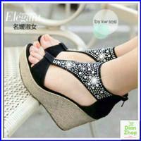 Harga sepatu wanita mewah bling kilau ag31 cewek pesta kondangan | Pembandingharga.com