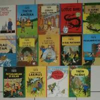 Komik Petualangan Tintin-Herge, Gramedia 2000, ukuran kecil.